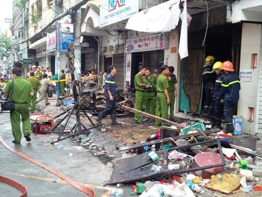 Thông tin mới về vụ cháy 7 người chết ở TP.HCM ảnh 1