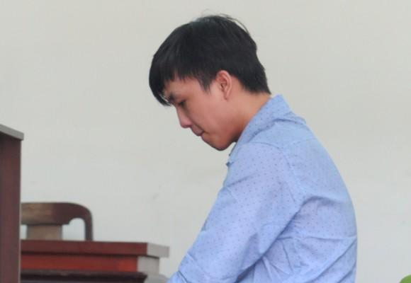 Bị cáo Lê Tấn Bảo tại tòa