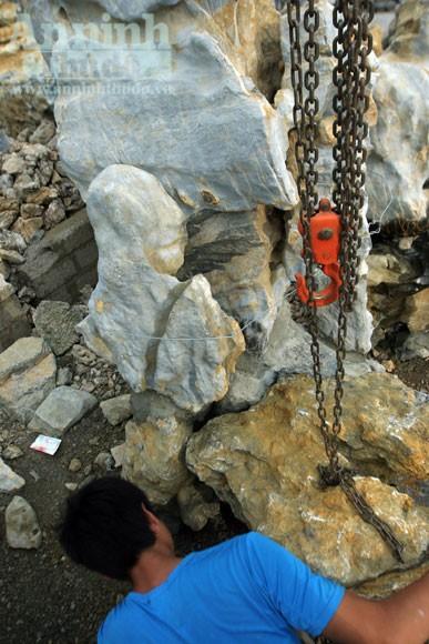 """""""Phù phép"""" biến đá nhỏ thành đại thạch kiểng ảnh 4"""