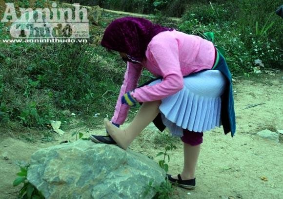 Chiêm ngưỡng thời trang chống rét ở vùng đá núi ảnh 6