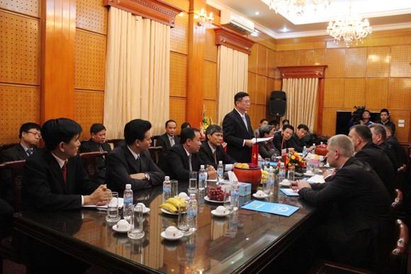 Đoàn Bộ Nội vụ Cộng hòa Balarus thăm và làm việc tại CATP Hà Nội ảnh 6