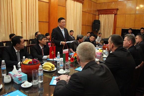 Đoàn Bộ Nội vụ Cộng hòa Balarus thăm và làm việc tại CATP Hà Nội ảnh 5