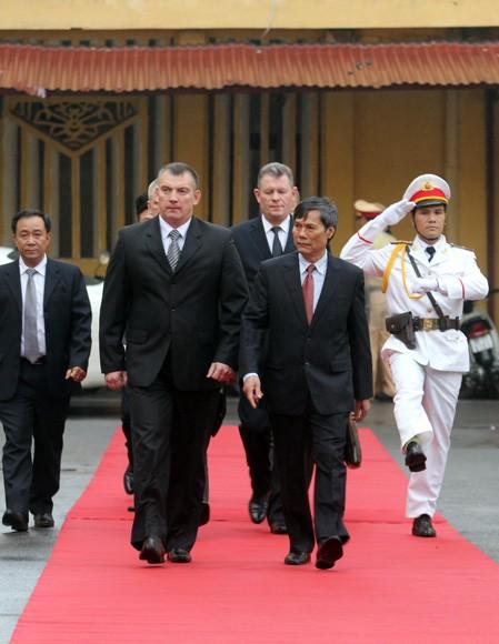 Đoàn Bộ Nội vụ Cộng hòa Balarus thăm và làm việc tại CATP Hà Nội ảnh 3