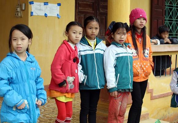 """Những người """"xua"""" đi giá lạnh cho học sinh nghèo Trung Sơn ảnh 2"""