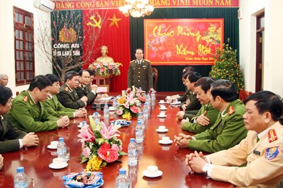 Đại tướng Trần Đại Quang kiểm tra ANTT tại tỉnh biên giới Lạng Sơn ảnh 1