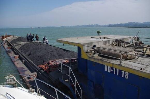 """800 tấn """"vàng đen"""" bị bắt giữ trên biển Quảng Ninh ảnh 1"""