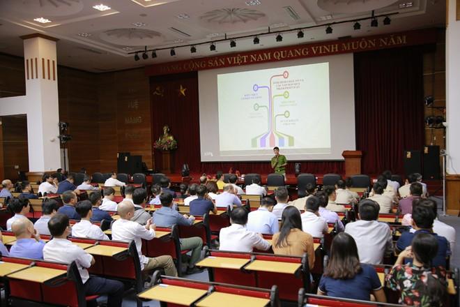 Tập huấn nghiệp vụ phòng cháy tại toà nhà VNPT-net ảnh 3