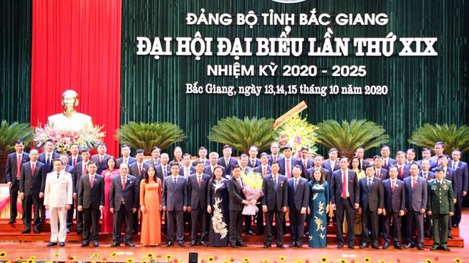 Đồng chí Dương Văn Thái được tín nhiệm bầu giữ chức Bí thư Tỉnh ủy Bắc Giang khóa XIX ảnh 2