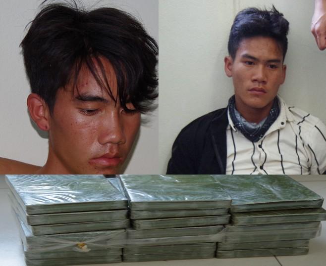Bắt nhóm đối tượng vận chuyển trái phép 30 bánh heroin ảnh 3