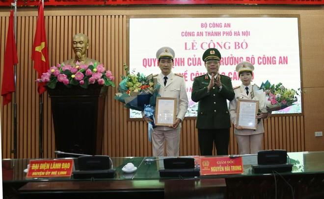 Công an Hà Nội công bố Quyết định của Bộ trưởng Bộ Công an về công tác cán bộ ảnh 1