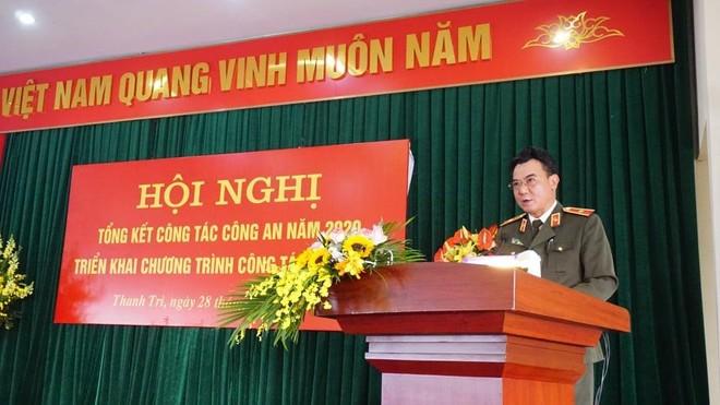 Công an huyện Thanh Trì làm tốt công tác đảm bảo ANTT địa bàn ảnh 1