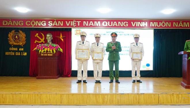 Công an huyện Gia Lâm phát huy sức mạnh tổng hợp đảm bảo an ninh trật tự ảnh 1