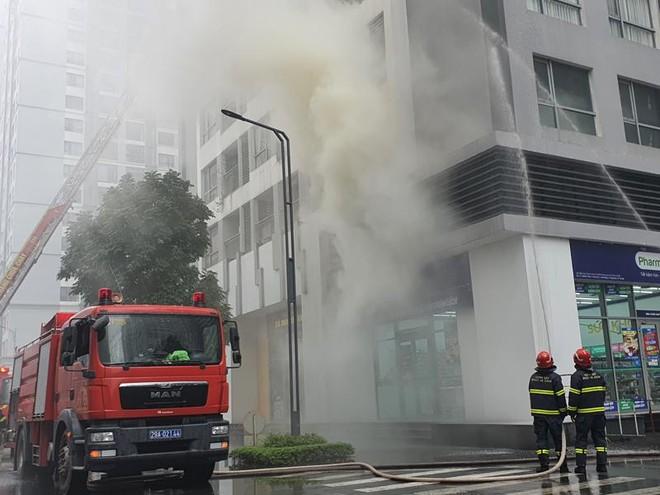 Diễn tập cứu nạn, chữa cháy tại Khu căn hộ Vinhomes Times City Park Hill - Park Hill Premium ảnh 1