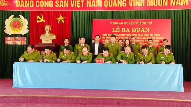 Triển khai cấp căn cước công dân và ký cam kết phòng, chống vi phạm pháp luật về pháo trong dịp Tết Nguyên đán Tân Sửu ảnh 1
