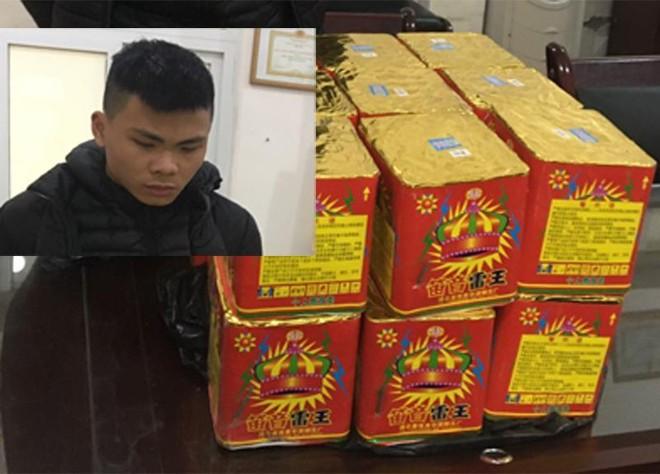Công an huyện Mê Linh bắt giữ nhiều vụ vận chuyển trái phép pháo nổ ảnh 1