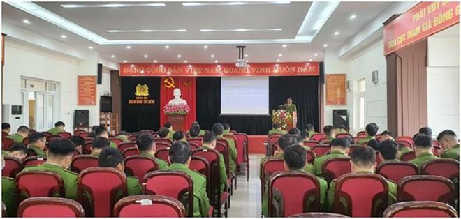 Bồi dưỡng chuyên sâu công tác quản lý Nhà nước về phòng cháy và cứu nạn cho Công an cấp phường ảnh 1