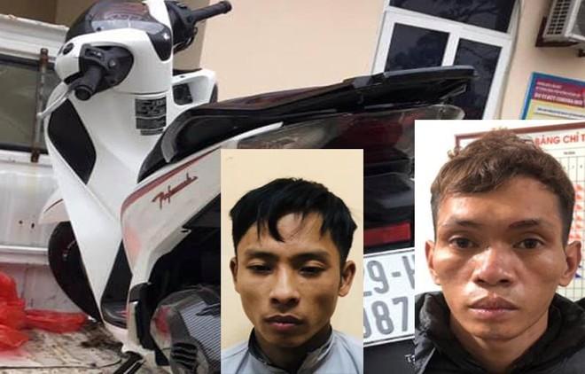 Công an xã tuần tra, bắt giữ đối tượng trộm cắp xe máy ảnh 1