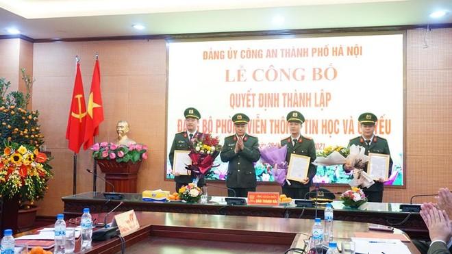 Quyết định thành lập Đảng bộ Phòng Viễn thông, Tin học và Cơ yếu CATP Hà Nội ảnh 2