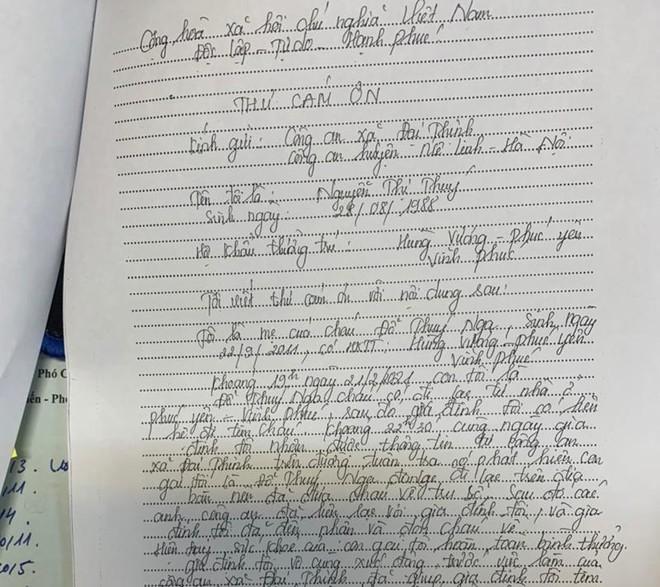 Công an xã Đại Thịnh giúp cháu bé bị lạc tìm người thân trong đêm ảnh 1