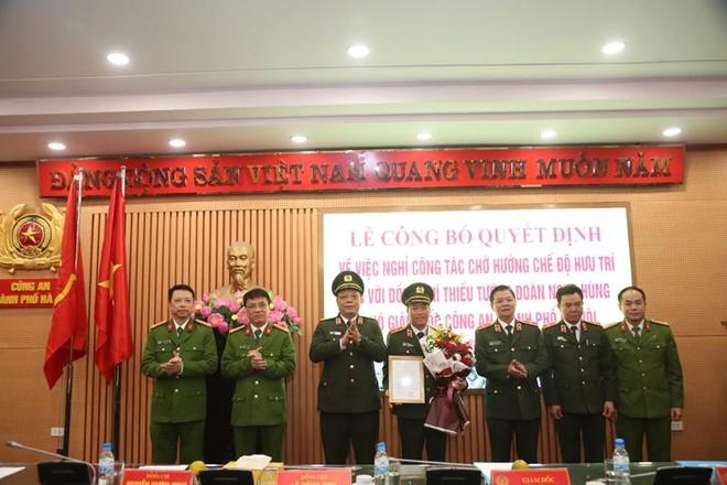 Công an Hà Nội công bố quyết định nghỉ chờ hưu trí đối với Thiếu tướng Đoàn Ngọc Hùng ảnh 1