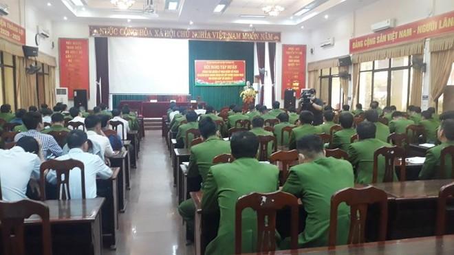 Gần 150 cán bộ UBND xã, thị trấn và Công an xã, thị trấn được tập huấn quản lý Nhà nước về PCCC và CNCH