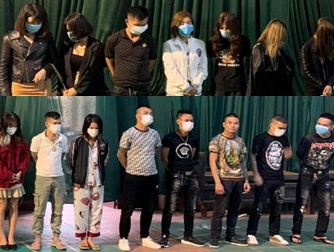 Phát hiện 15 nam, nữ thanh niên dương tính với ma túy tại quán karaoke ảnh 1