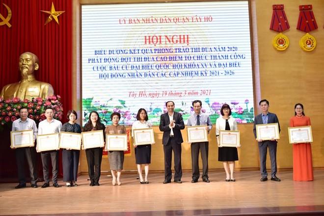 Phát động thi đua cao điểm tổ chức thành công bầu cử đại biểu Quốc hội khóa XV và đại biểu HĐND các cấp ảnh 1