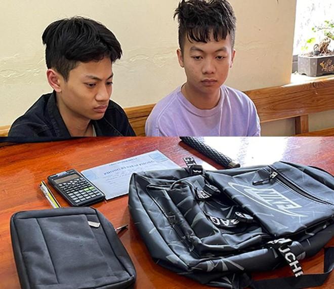Nghiện chơi điện tử xèng, hai sinh viên rủ nhau cướp giật tài sản ảnh 1