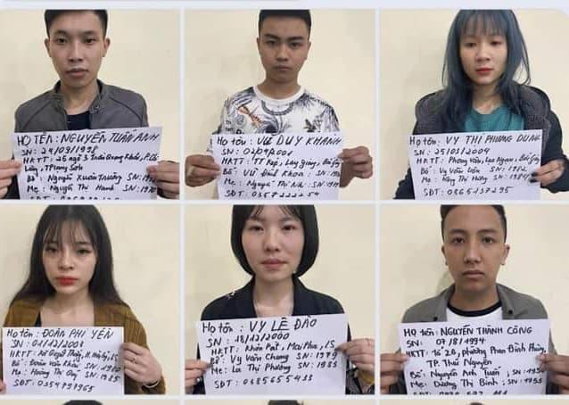Nhiều thanh niên nam, nữ bị bắt vì liên quan đến ma túy ảnh 1