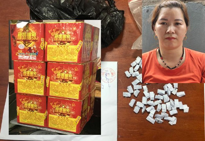 Khám xét khẩn cấp nơi ở của người đàn bà tàng trữ 104 gói heroin ảnh 1