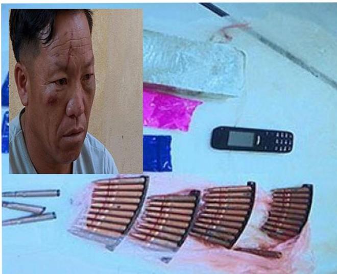 Hai chiến sỹ Công an bị thương khi vây bắt tội phạm ma tuý ảnh 1