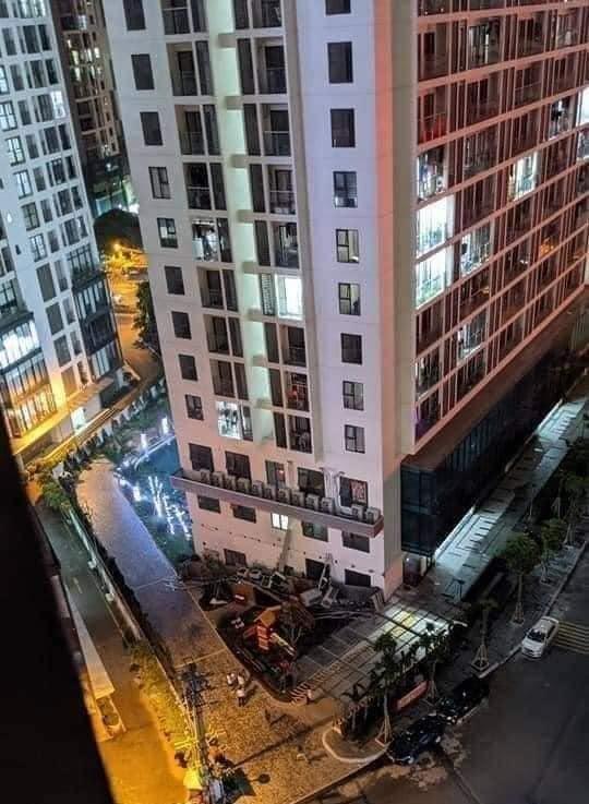 Sập giàn điều hoà tại chung cư An Bình, quận Nam Từ Liêm ảnh 1
