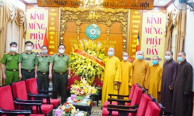 Giám đốc CATP Hà Nội chúc mừng Lễ Phật đản 2021 ảnh 1