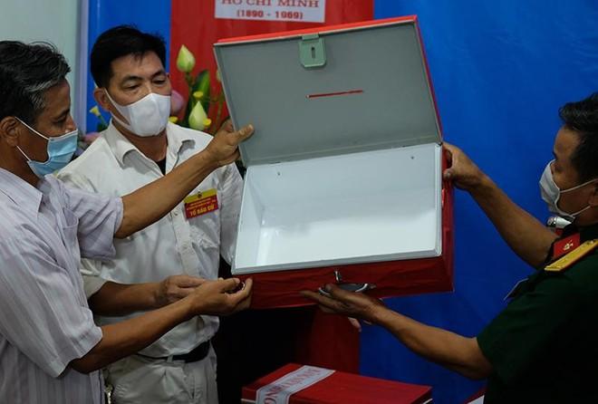 Đảm bảo an ninh, tuân thủ đúng quy trình bầu cử tại xã Tráng Việt ảnh 3