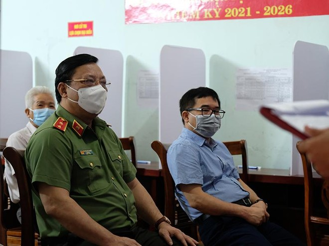 Đảm bảo an ninh, tuân thủ đúng quy trình bầu cử tại xã Tráng Việt ảnh 2