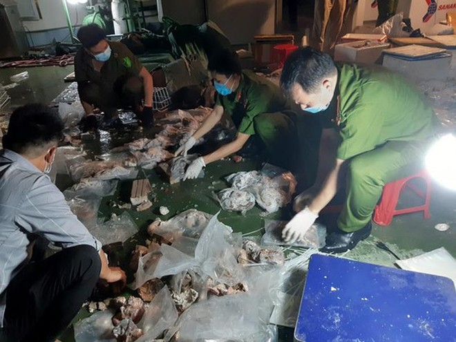 Triệt phá đường dây cất giấu ma túy lẫn với nội tạng lợn và mô tơ điện để xuất sang Trung Quốc tiêu thụ ảnh 1