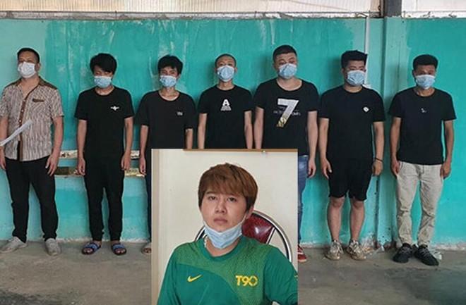 Phát hiện 7 người Trung Quốc trong thùng xe tải nhập cảnh trái phép ảnh 1