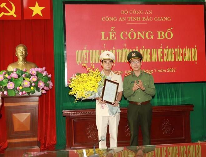 Bổ nhiệm một Phó Giám đốc Công an tỉnh Bắc Giang ảnh 1