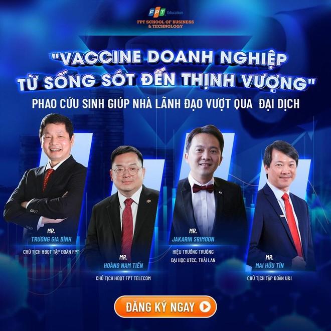 """""""Vaccine cho doanh nghiệp – Từ sống sót đến thịnh vượng"""" ảnh 1"""