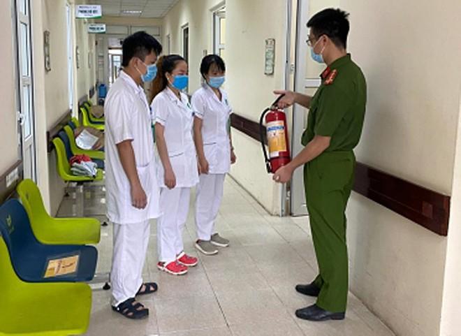 Những kịch bản, phương án an toàn phòng cháy tại Bệnh viện đa khoa Gia Lâm ảnh 1