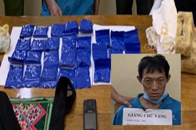 Bắt đối tượng vận chuyển hàng trăm viên ma túy tổng hợp ảnh 1