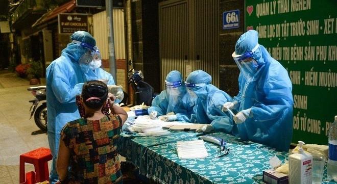 7 ca dương tính mới ở Nghệ An trong đó có 1 nhân viên bệnh viện ảnh 1