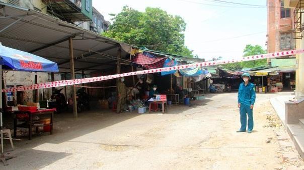 Phong tỏa trụ sở công an huyện nơi có 1 chiến sỹ dương tính với Covid-19 ảnh 1