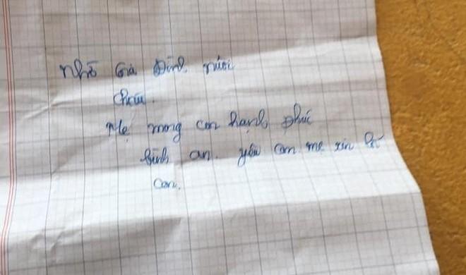 Bé trai 10 ngày tuổi bị bỏ rơi cùng tờ giấy nhờ nuôi hộ ảnh 2
