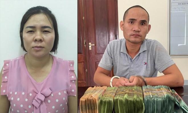 Bắt giữ cặp vợ chồng cho vay tiền với lãi suất 'cắt cổ' ảnh 1