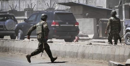 Phó Tổng thống Afghanistan thoát chết ảnh 1
