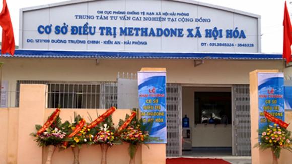 Khuyến khích mở rộng mô hình điều trị methadone ảnh 1
