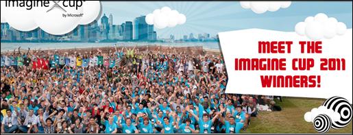 Microsoft vinh danh quán quân Imagine Cup 2011