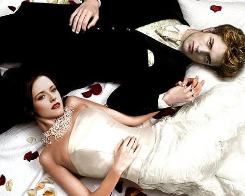 Ma cà rồng Edward kết hôn với Bella ảnh 1