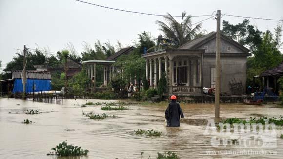 Thừa Thiên- Huế hứng chịu đợt lũ lớn nhất trong năm ảnh 1